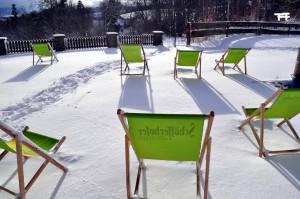 Liegen im Schnee 2011